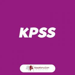 kpss ders dağılımı